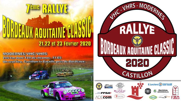 BORDEAUX AQUITAINE CLASSIC 2020
