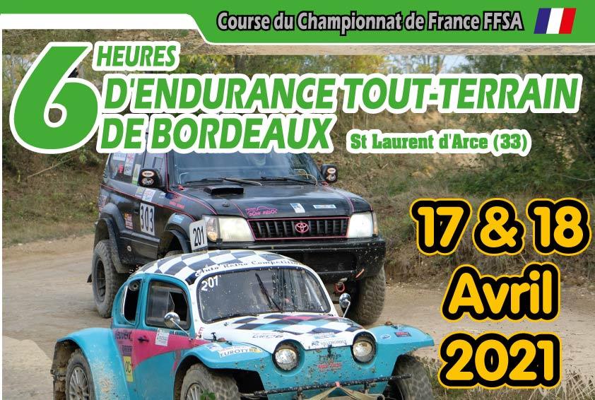 6H ENDURANCE SSV DE BORDEAUX 2021