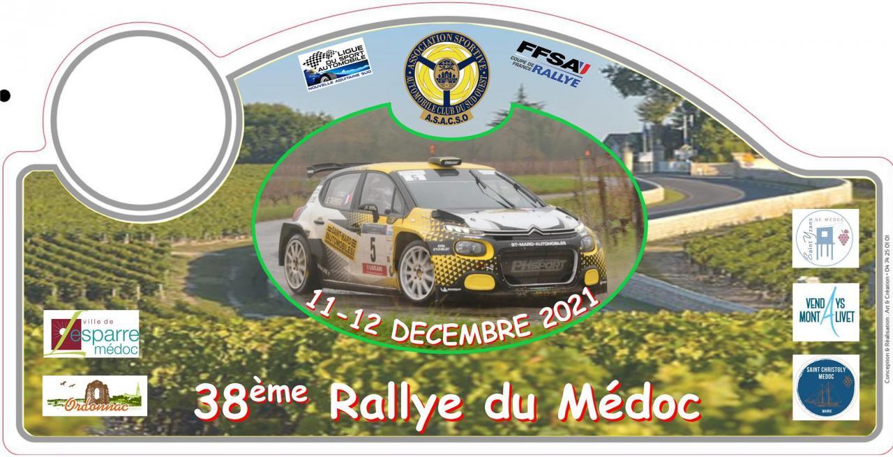 38ème RALLYE RÉGIONAL DU MEDOC 2021