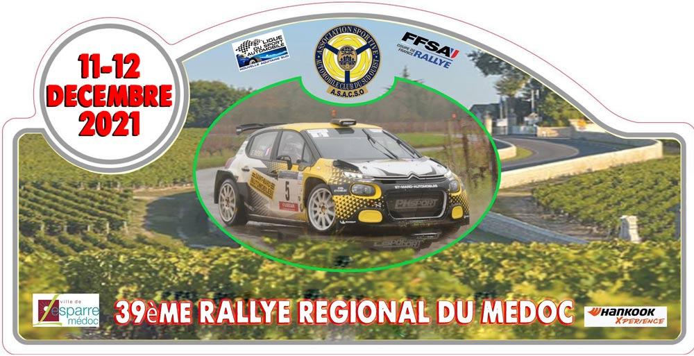 39ème RALLYE RÉGIONAL DU MEDOC 2021